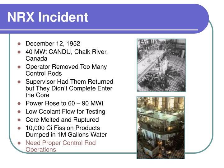 NRX Incident