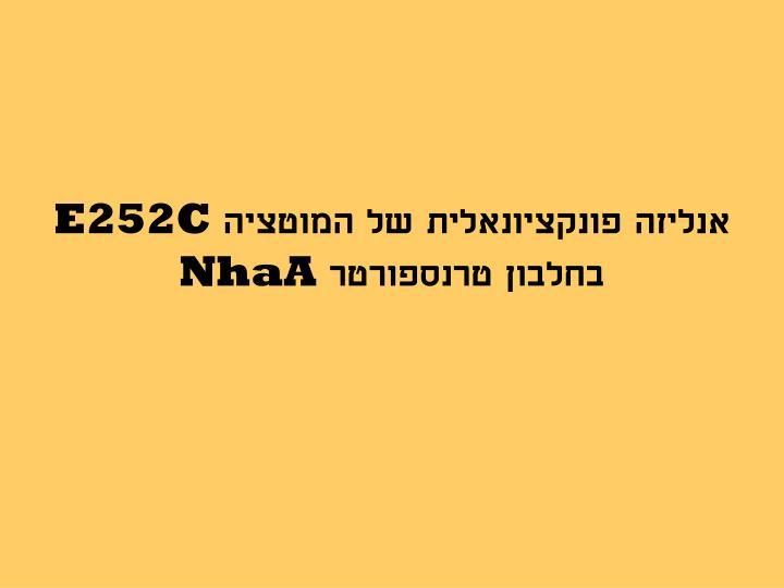 E252c nhaa