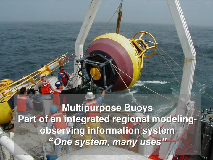 Multipurpose Buoys