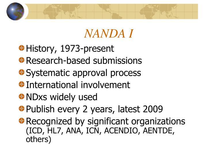 NANDA I