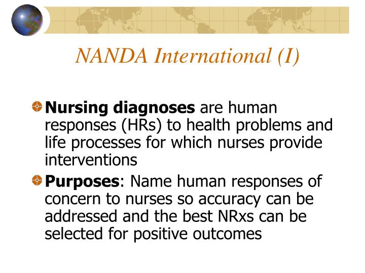 NANDA International (I)