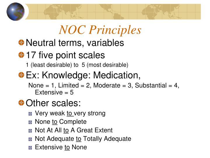 NOC Principles