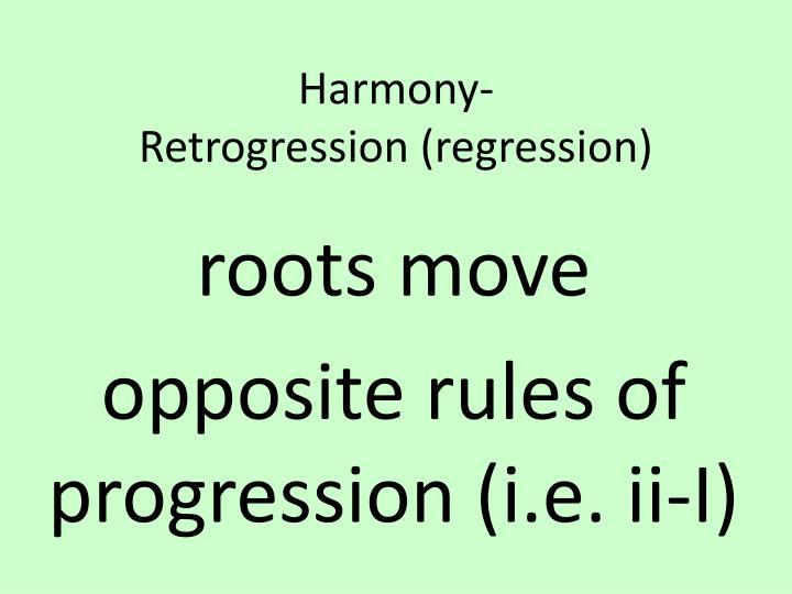 Harmony-