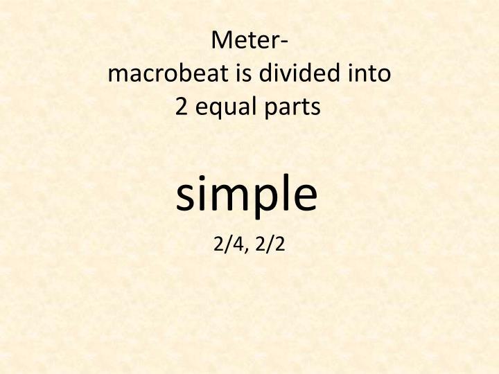Meter-