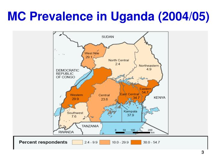 Mc prevalence in uganda 2004 05