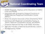 national coordinating team