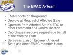 the emac a team