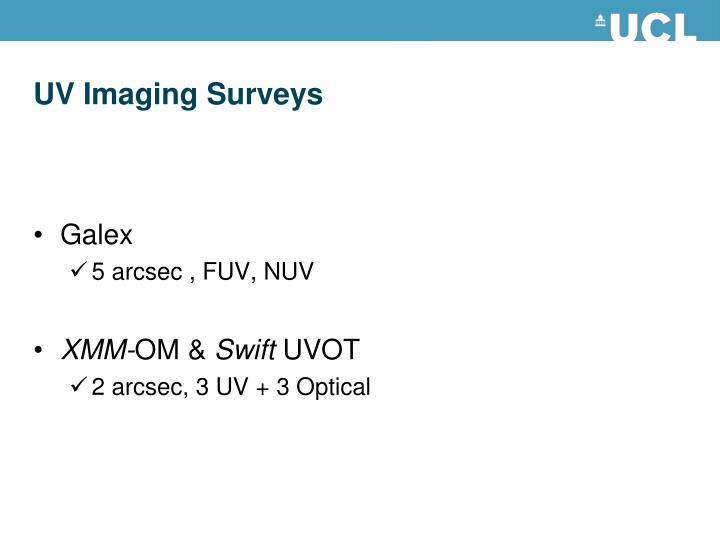 Uv imaging surveys