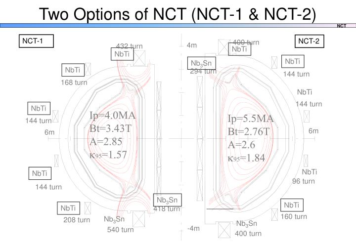 Two Options of NCT (NCT-1 & NCT-2)