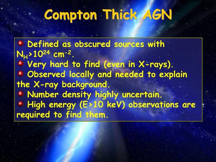 Compton Thick AGN