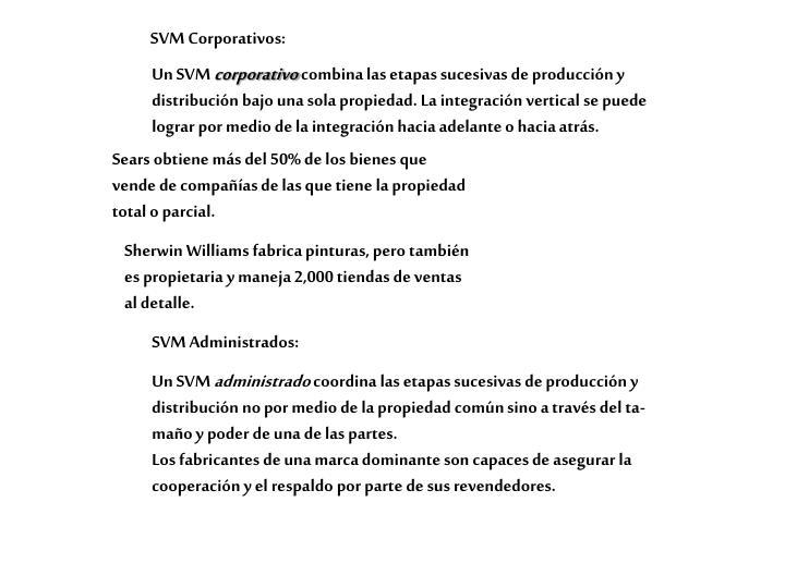 SVM Corporativos: