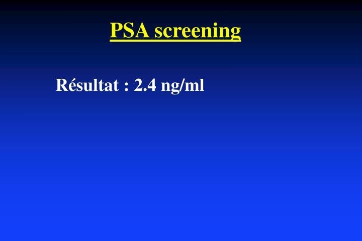 Psa screening1
