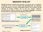 requisiti di blast