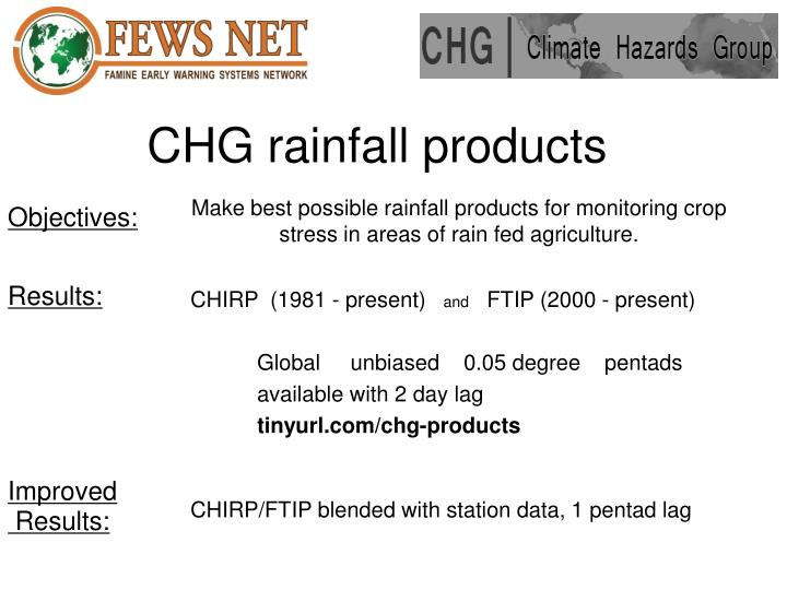 Chg rainfall products2