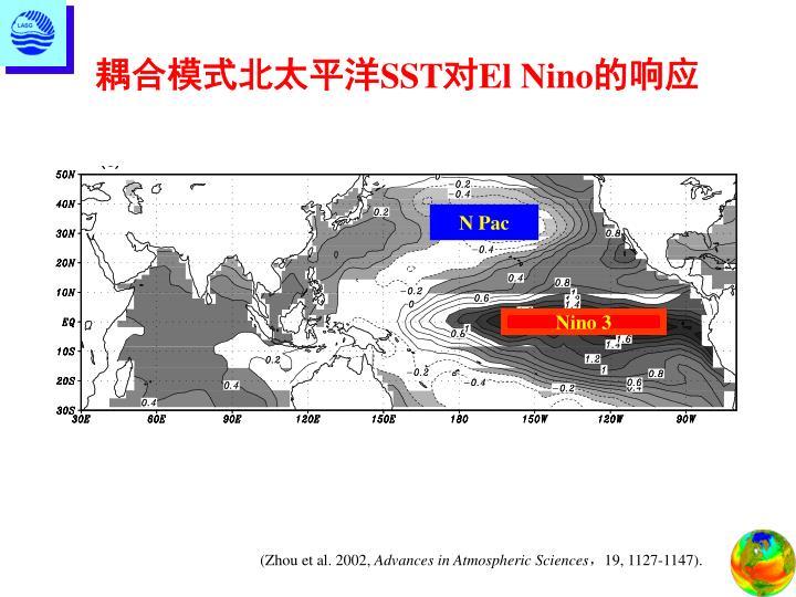 耦合模式北太平洋