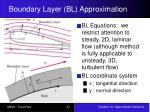boundary layer bl approximation2