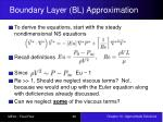 boundary layer bl approximation3