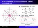 elementary planar irrotational flows line source sink1