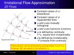 irrotational flow approximation 2d flows1