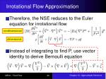 irrotational flow approximation5