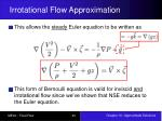 irrotational flow approximation6