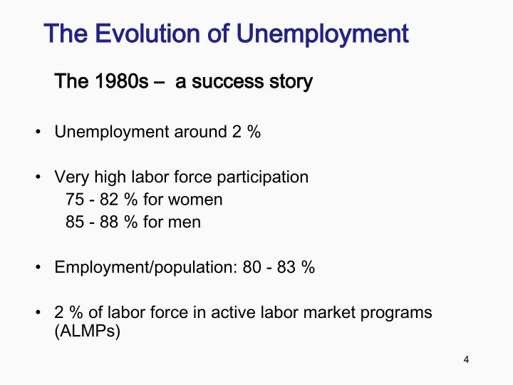 The Evolution of Unemployment