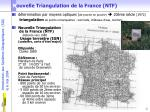 n ouvelle triangulation de la france ntf