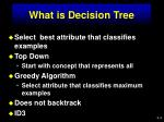 what is decision tree1
