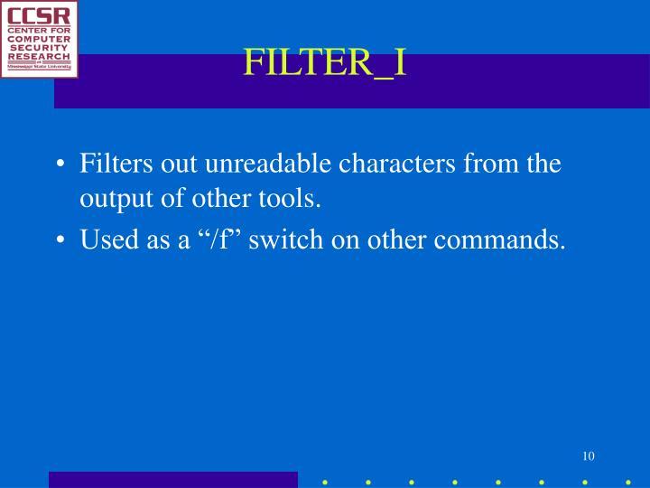FILTER_I