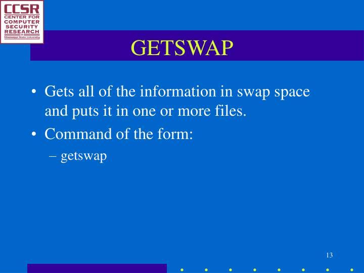 GETSWAP