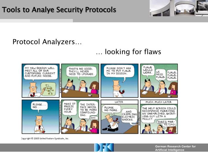 tools to analye security protocols n.