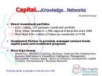 capital knowledge networks
