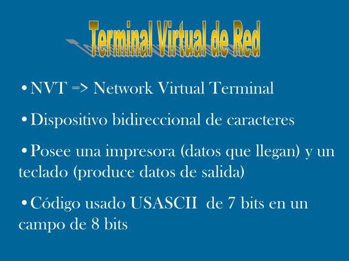 Terminal Virtual de Red