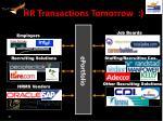 hr transactions tomorrow