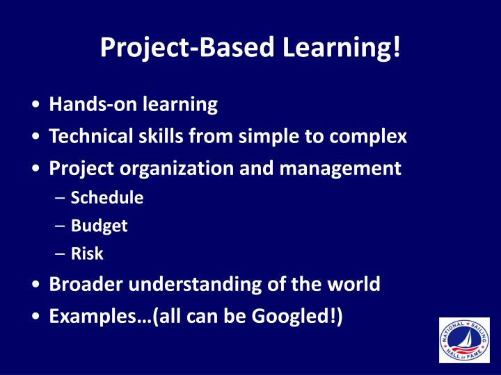 Project-Based Learning!
