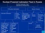 nuclear powered icebreaker fleet in russia