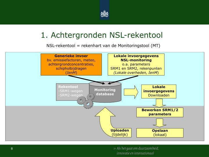 1. Achtergronden NSL-rekentool