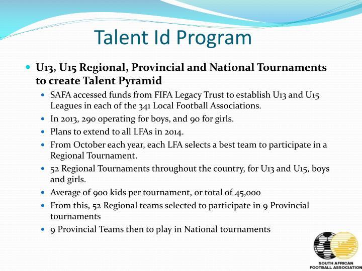 Talent Id Program