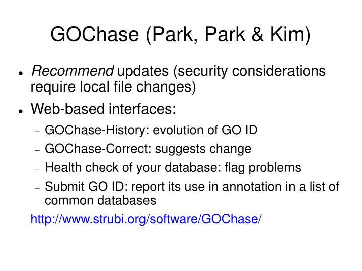 GOChase (Park, Park & Kim)