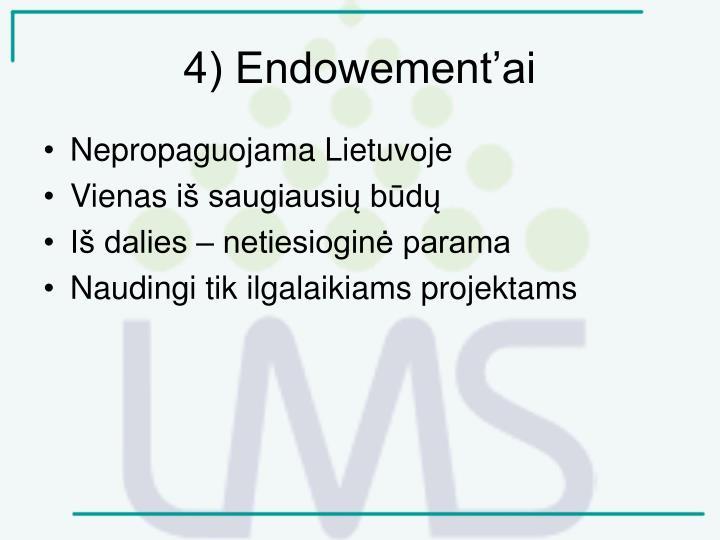 4) Endowement'ai