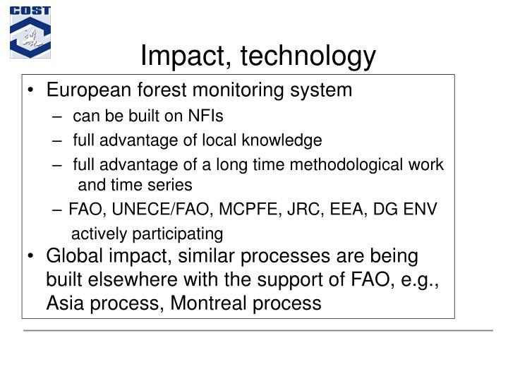 Impact, technology