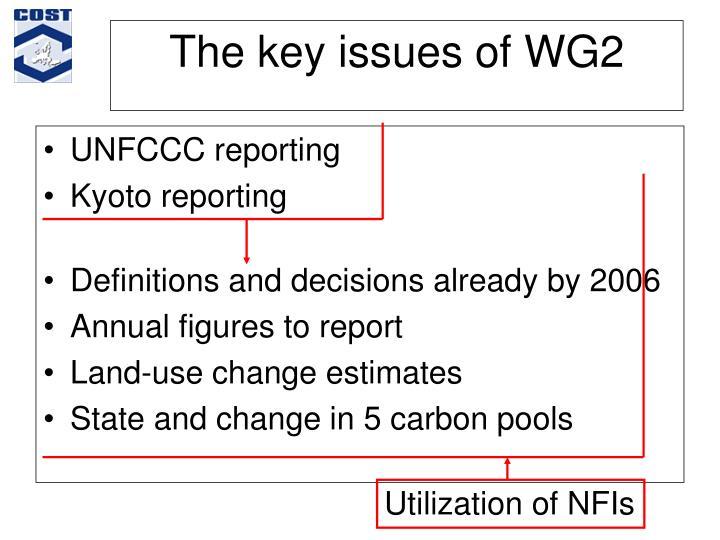 UNFCCC reporting