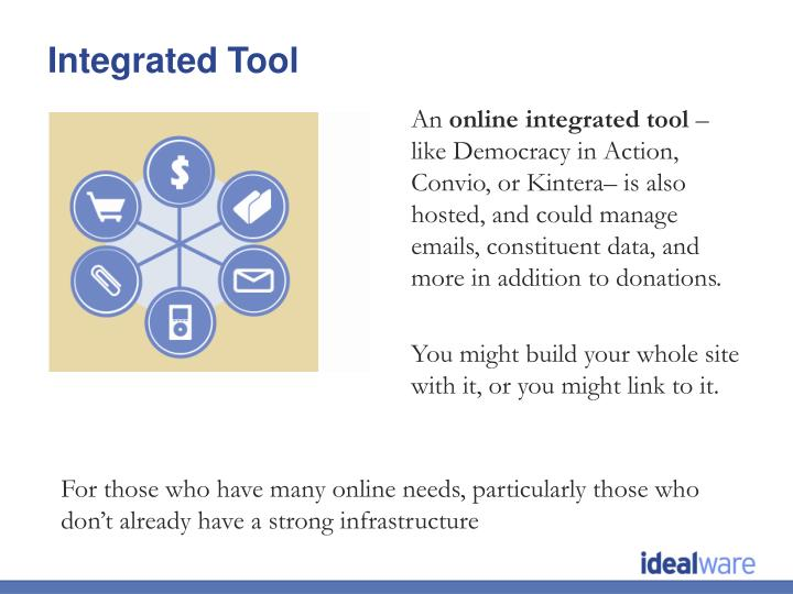 Integrated Tool