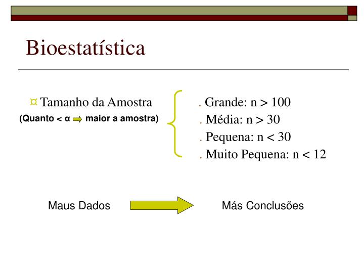 Bioestatística