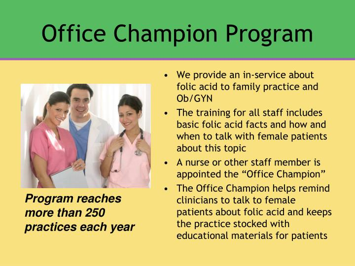 Office Champion Program