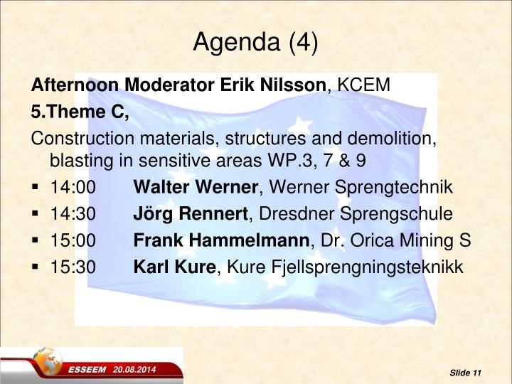 Agenda (4)