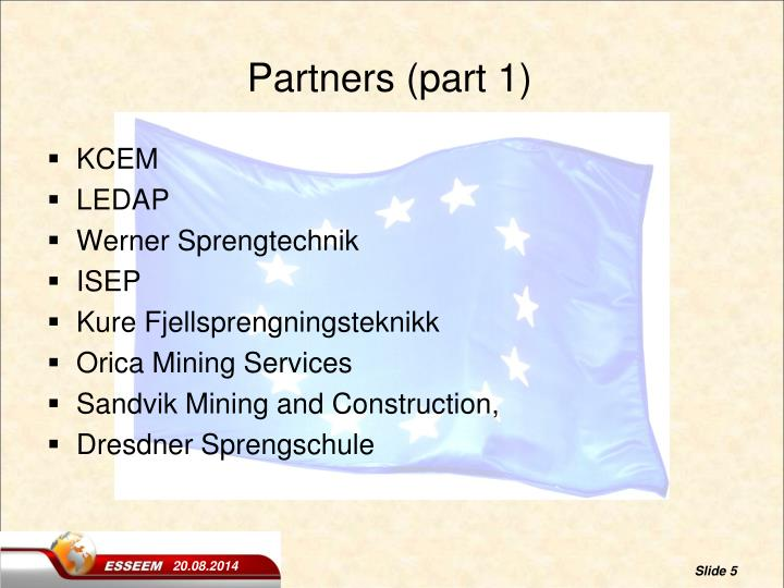 Partners (part 1)