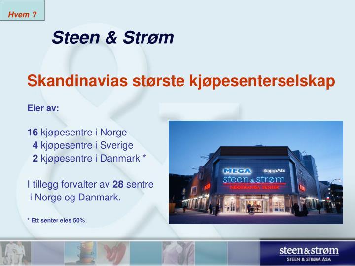 Steen str m
