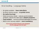 error handling language safety