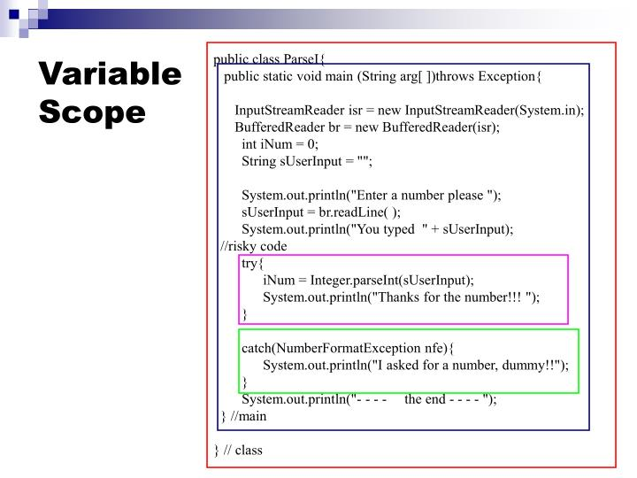 Variable scope2